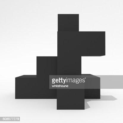 abstract shape : Bildbanksbilder