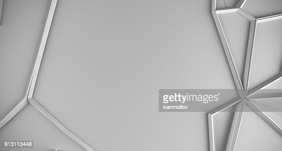 Abstract Shapes Low Poly Background : Stock Photo