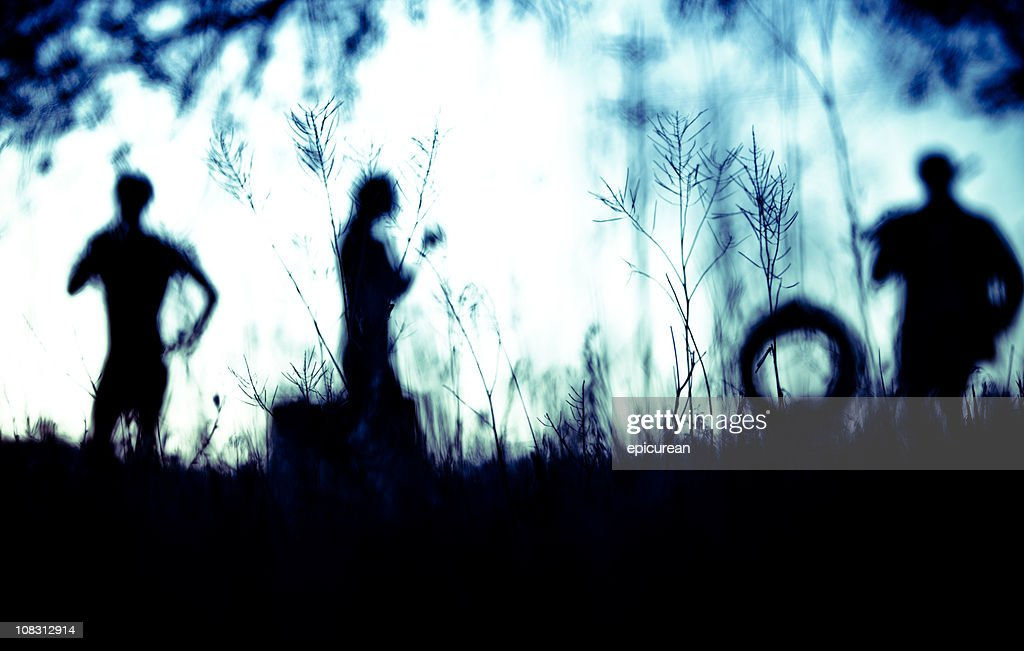 Abstract silhouette : Stock Photo
