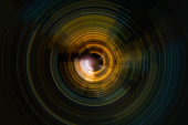 abstract spiral radial motion background