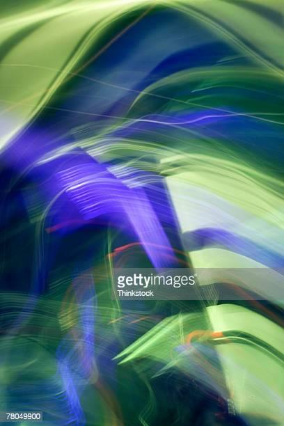 Abstract streaks of light