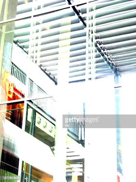 Arrière-plan transparent coloré design de style dans