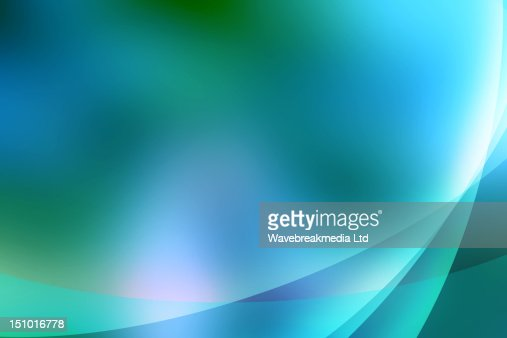 Abstract turquoise lines : Stock Photo