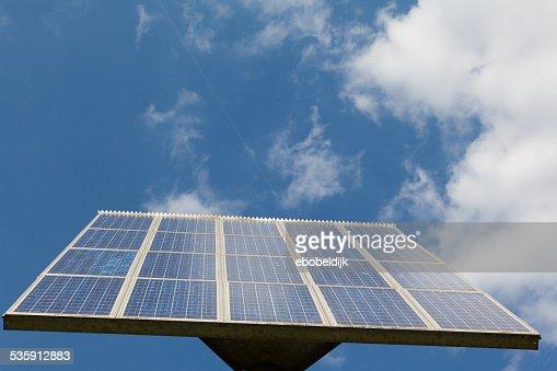 Abstract vista de panel solar : Foto de stock