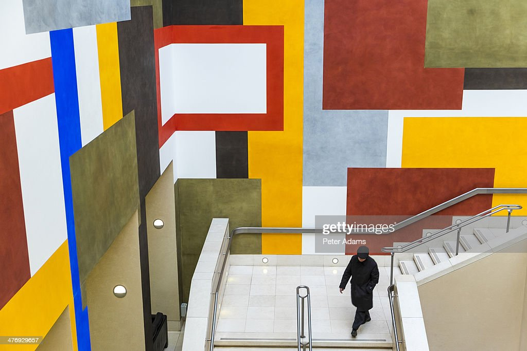 Abstract wall decoration, Tate Britain, London