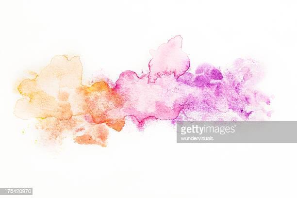 抽象的な水彩バックグラウンド