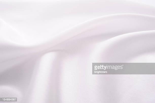 Abstract white satin