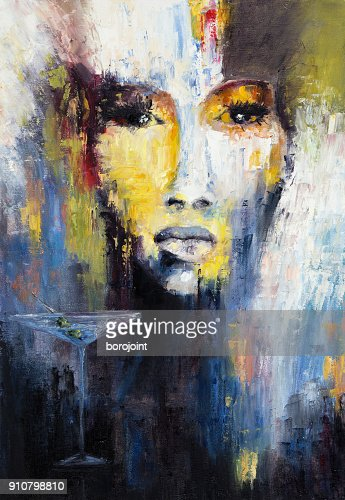 Abstract woman : Stock Photo