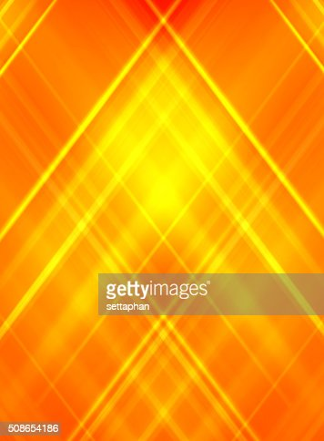 Abstract yellow on orange background. - business card : Stock Photo