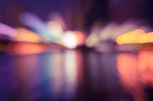 abstract, background, blue, blur, blurred, bokeh, bright, car, circle, city, cityscape, color, colorful, dark, dawn, defocused, district, driving, dusk, effect, evening, flare, glowing, green, illumin