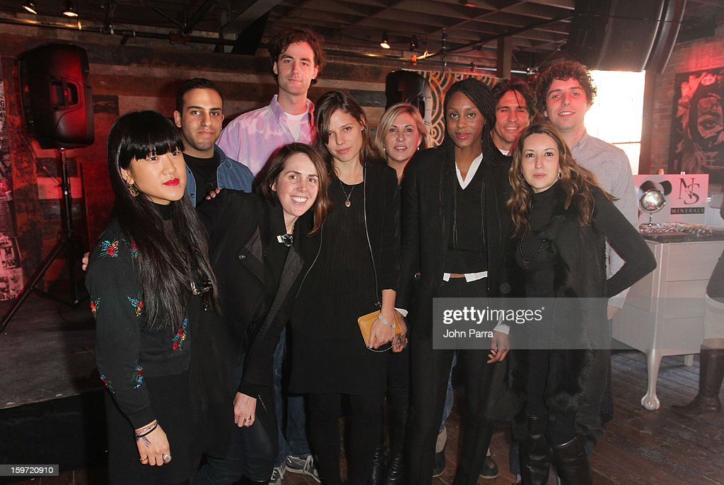 Abteen Bagheri, Tyrone Lebon, Emily Kai Bock, Brooke De Dard Smith and Bob Harlow attend the Nokia Music, Spin Sundance Channel and SomeSuch & Co Present New American Noise on January 18, 2013 in Park City, Utah.