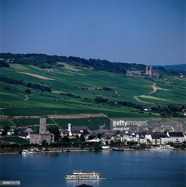 Abtei St Hildegardis bei Eibingen /Rüdesheim am Rhein gegründet vonHildegard von Bingen im Jahr 1165 1997 col