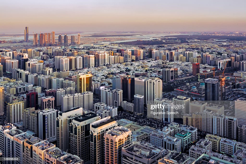 Abu Dhabi - East view