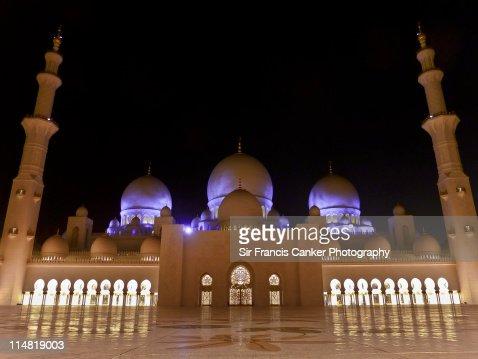 Abu Dhabi, Sheikh Zayed Grand Mosque Emirates, UAE