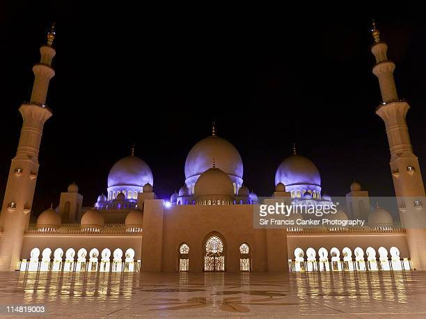 Abu Dhabi, Sheikh Zayed Grand Mosque Emirates, UAE