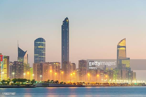 Abu Dhabi Skyscrapers Skyline