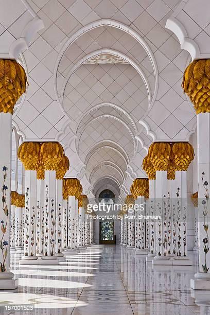 Abu Dhabi's Sheikh Zayed Mosque's arches
