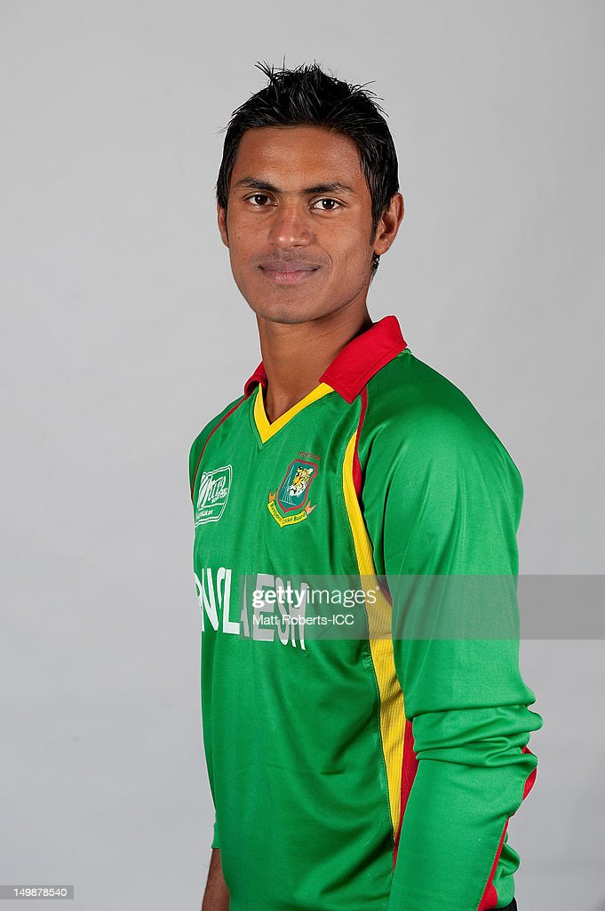 Abu Hider Rony of Bangladesh poses during a ICC U19 Cricket World Cup 2012 portrait session at Allan Border Field on August 6, 2012 in Brisbane, Australia.