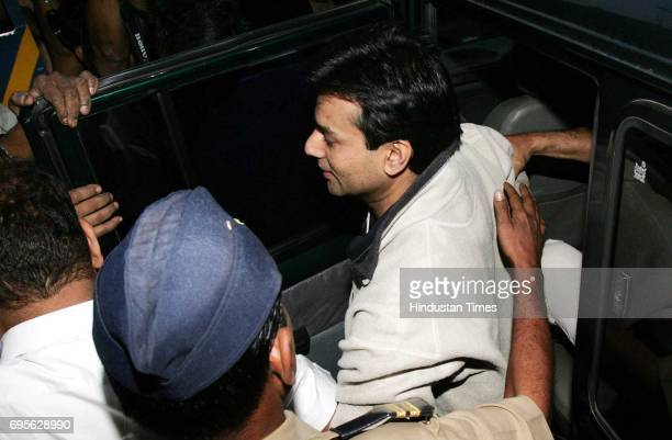 Abu Salem being taken to Arthur Road jail after he was remanded judicial custody for two days on Tuesday