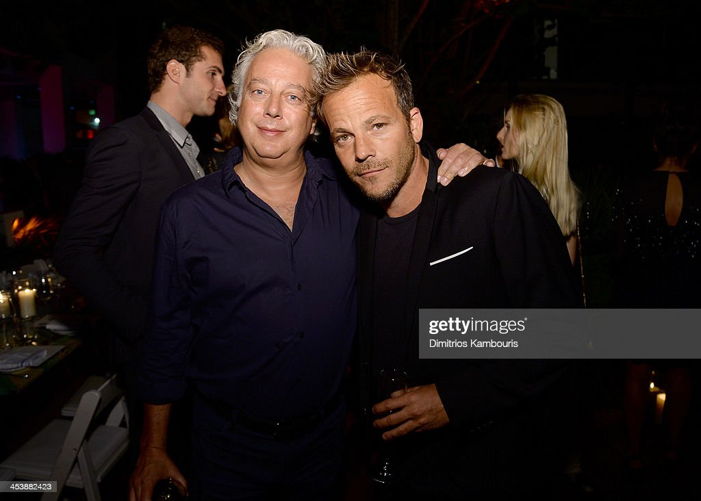 Aby Rosen (L) and <a gi-track='captionPersonalityLinkClicked' href=/galleries/search?phrase=Stephen+Dorff&family=editorial&specificpeople=206430 ng-click='$event.stopPropagation()'>Stephen Dorff</a> attend the Aby Rosen & Samantha Boardman Dinner at The Dutch on December 5, 2013 in Miami Beach, Florida.