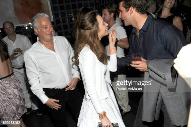 Aby Rosen Samantha Boardman Rosen and Stavros Niarchos attend ABY ROSEN PETER BRANT ALBERTO MUGRABI Dinner at W SOUTH BEACH at W SOUTH BEACH on...