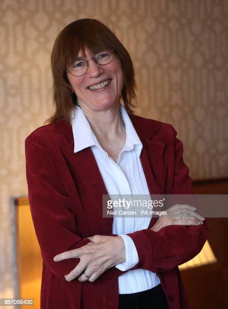 US academic Dr Barb Oakley backstage during the annual Headmasters' and Headmistresses' Conference at the Europa Hotel in Belfast whose brain...