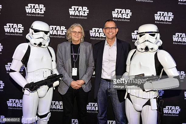 Academy Award winner and set decorator for the Star Wars films Roger Christian and Pete Noonan Managing Director Licensing for Disney Consumer...