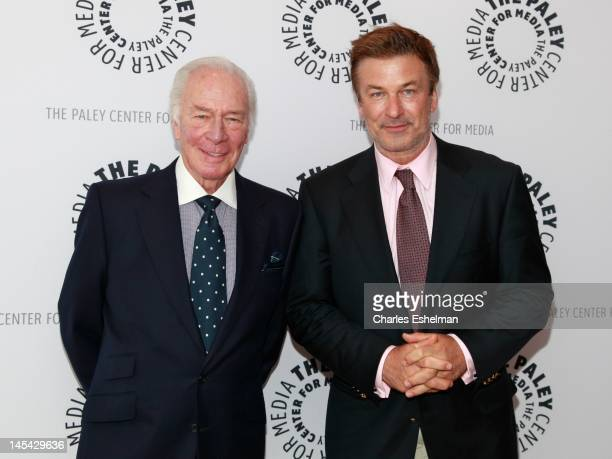 Academy Award winning actor Christopher Plummer and actor Alec Baldwin attend An Evening with Christopher Plummer at The Paley Center for Media on...