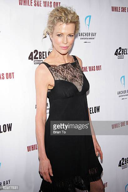 Academy Award winning actress Kim Basinger arrives at 'While She Was Out' Los Angeles Premiere Arrivals at the Arclight Hollywood on December 9 2008...