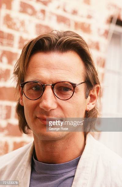 Academy Awardnominated actor Liam Neeson poses during a 1990 Hollywood California photo portrait session to publicize his film 'Dark Man' Neeson was...