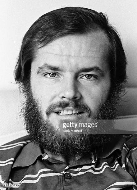 Academy Awardwinning actor Jack Nicholson photographed in New York City in 1969 the year he starred in 'Easy Rider'