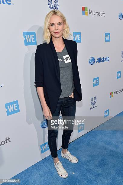 Academy® Awardwinning actress and Founder of Charlize Theron Africa Outreach Project and Honorary CoChair of WE Day California Charlize Theron...
