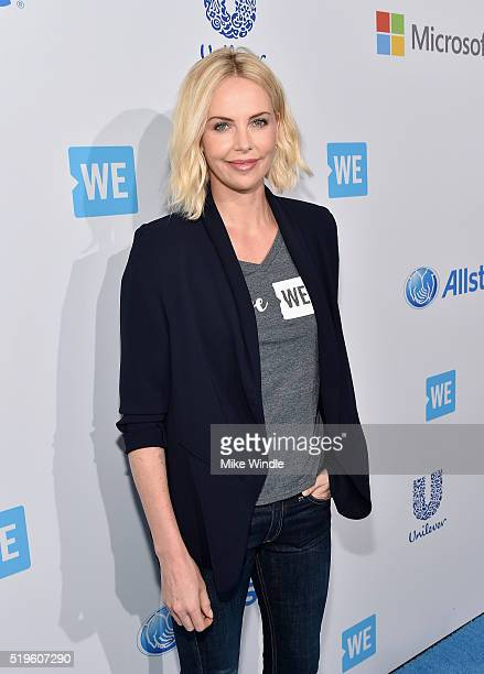 Academy® Awardwinning actress and Founder of Charlize Theron Africa Outreach Project and Honorary CoChair of WE Day California Charlize Theron walks...