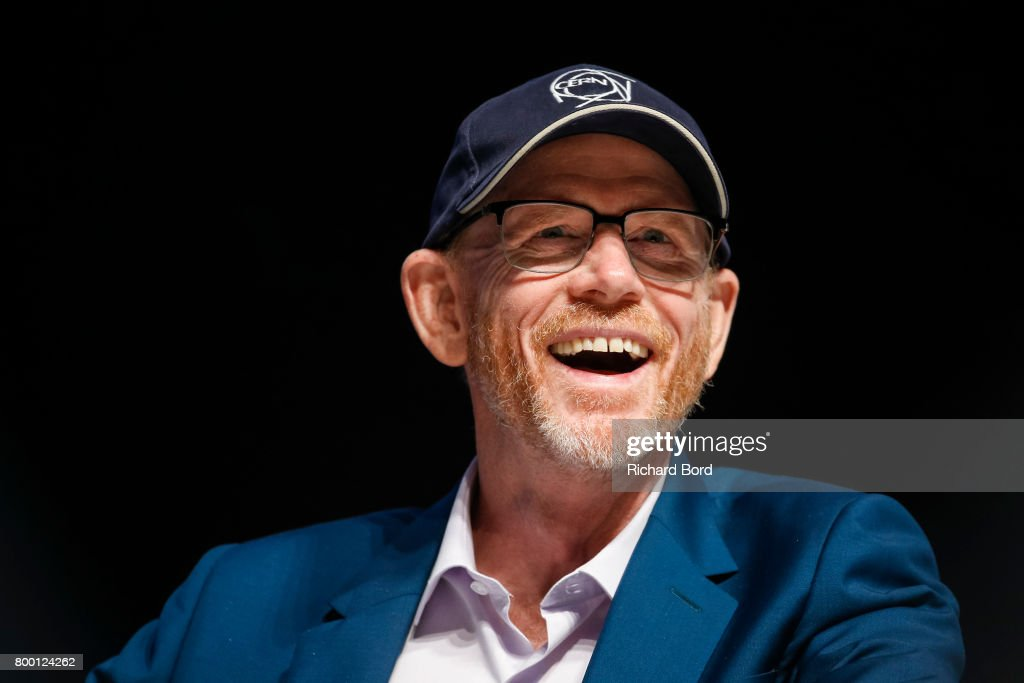 Academy Award-winning Filmmaker Ron Howard speaks during the Cannes Lions Festival 2017 on June 23, 2017 in Cannes, France.