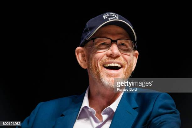 Academy Awardwinning Filmmaker Ron Howard speaks during the Cannes Lions Festival 2017 on June 23 2017 in Cannes France