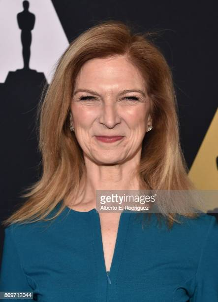 Academy CEO Dawn Hudson attends the Academy Nicholl Fellowships In Screenwriting Awards Presentation And Live Read at Samuel Goldwyn Theater on...