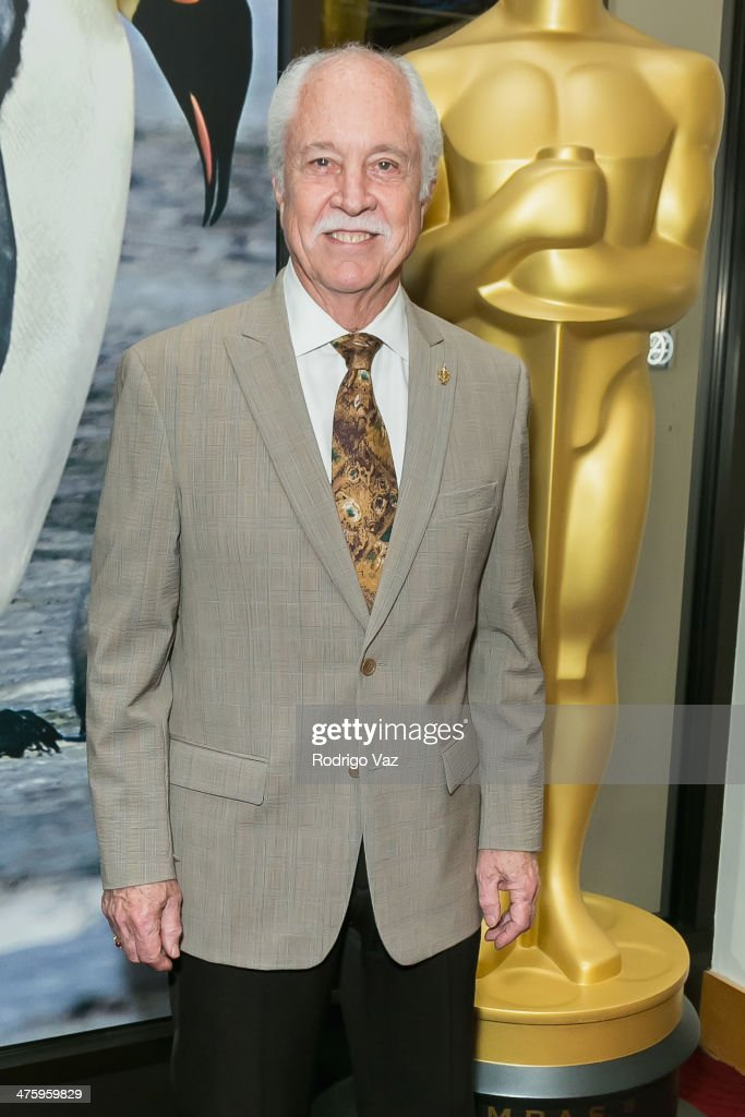 Academy Governor and makeup artist Leonard Engelman attends the 86th Annual Academy Awards Oscar Week Celebrates Makeup and Hairstyling at AMPAS Samuel Goldwyn Theater on March 1, 2014 in Beverly Hills, California.