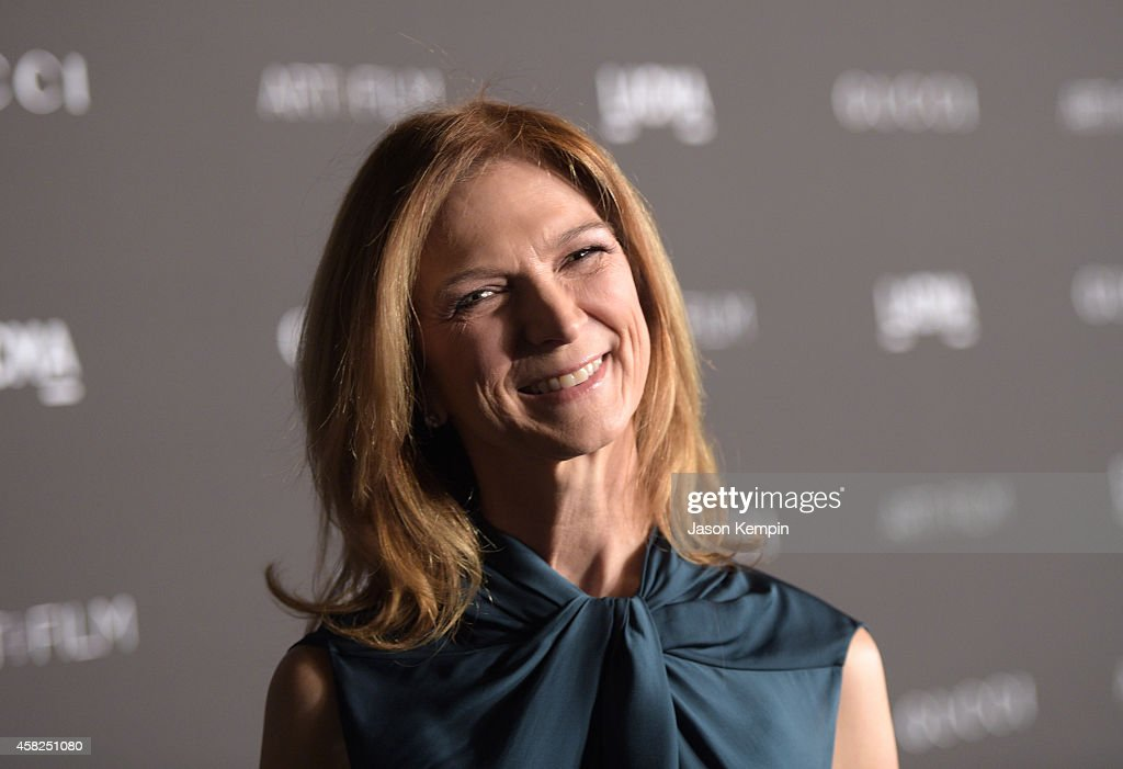 Academy of Motion Picture Arts and Sciences CEO Dawn Hudson attends the 2014 LACMA Art Film Gala honoring Barbara Kruger and Quentin Tarantino at...