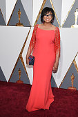 Academy of Motion Picture Arts and Sciences President Cheryl Boone Isaacs attends the 88th Annual Academy Awards at Hollywood Highland Center on...