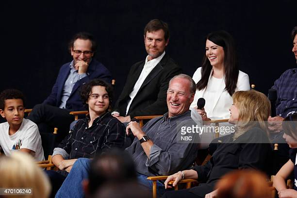 PARENTHOOD 'TV Academy Panel and Screening' Pictured Tyree Brown Jason Katims Max Burkholder Peter Krause Craig T Nelson Lauren Graham Bonnie Bedelia