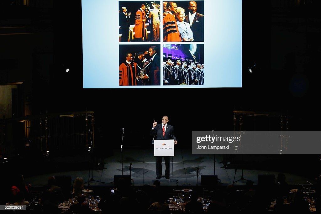 Academy President David Banks attends 2016 Eagle Academy Foundation Fundraising Breakfast at Gotham Hall on April 29, 2016 in New York City.