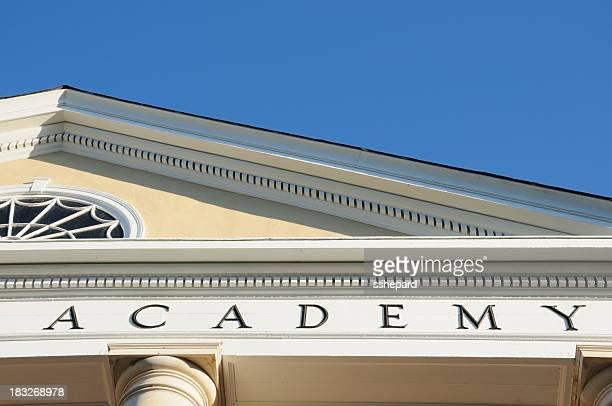 Academy sign