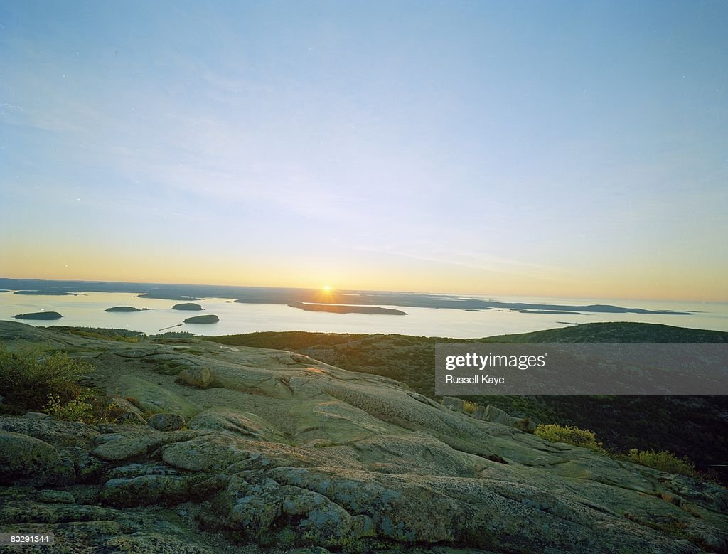 acadia national park sunrise from atop cadillac mountain and natural. Cars Review. Best American Auto & Cars Review
