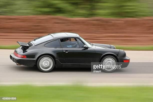 Accelerating Porsche 911