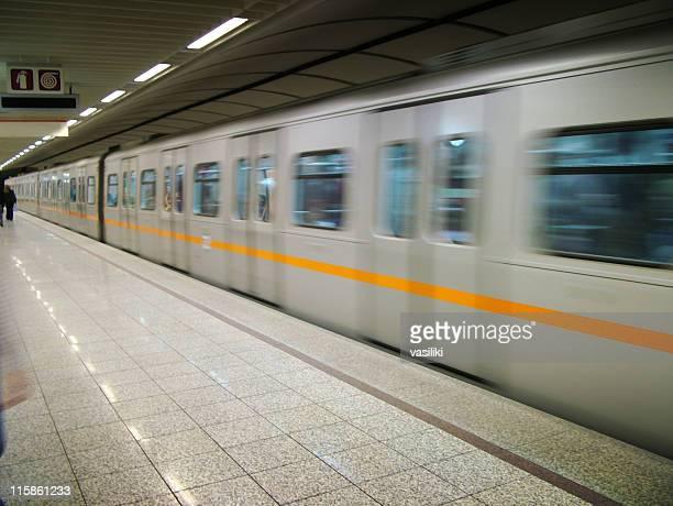 Accelerating train