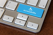 Accessibility disability computer icon