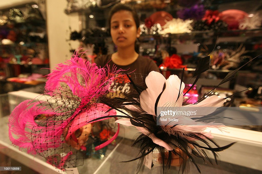 Accessories are displayed at the Miss Jo store at Select Citywalk in New Delhi on May 17, 2010.