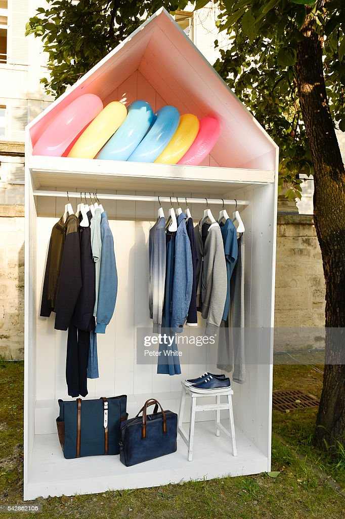 accessories at the Berluti Menswear Spring/Summer 2017 show as part of Paris Fashion Week on June 24, 2016 in Paris, France.