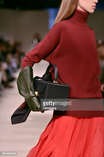 Accessories bag detail on the runway at the Victoria Beckham Autumn Winter 2017 fashion show during New York Fashion Week on February 12 2017 in New...