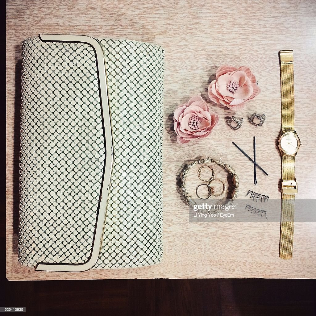 Accessories On Table